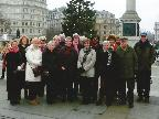 Art Group in Trafalgar Square