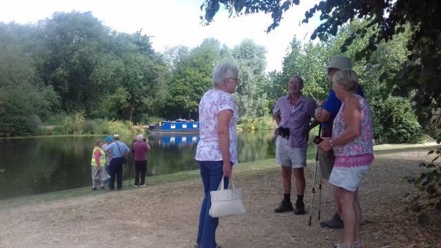 By the river Eaton Socon July 18th 2018