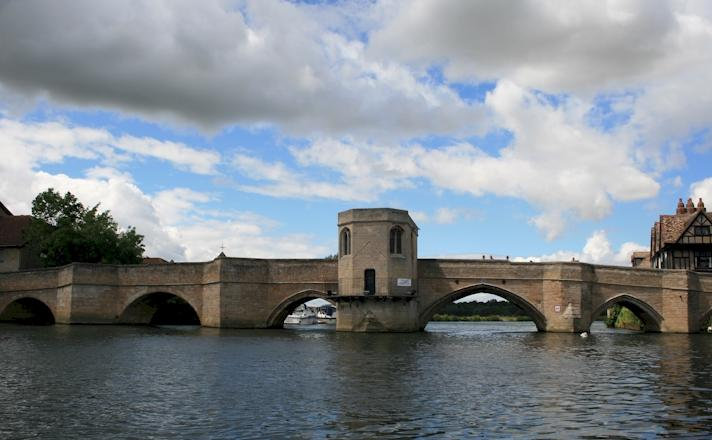 Bridge over River Great Ouse at St Ives
