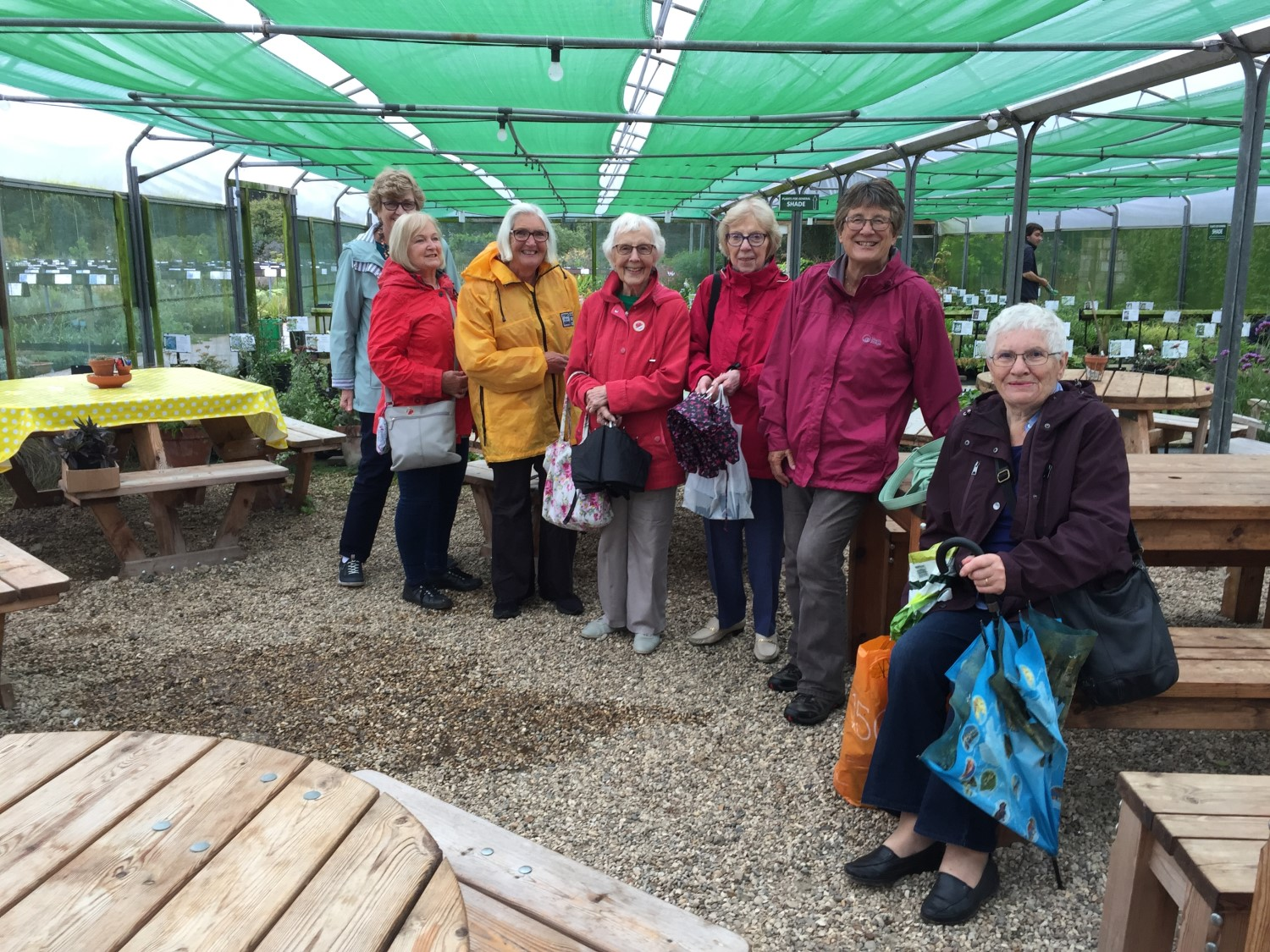 Staying Dry at Beth Chatto Gardens