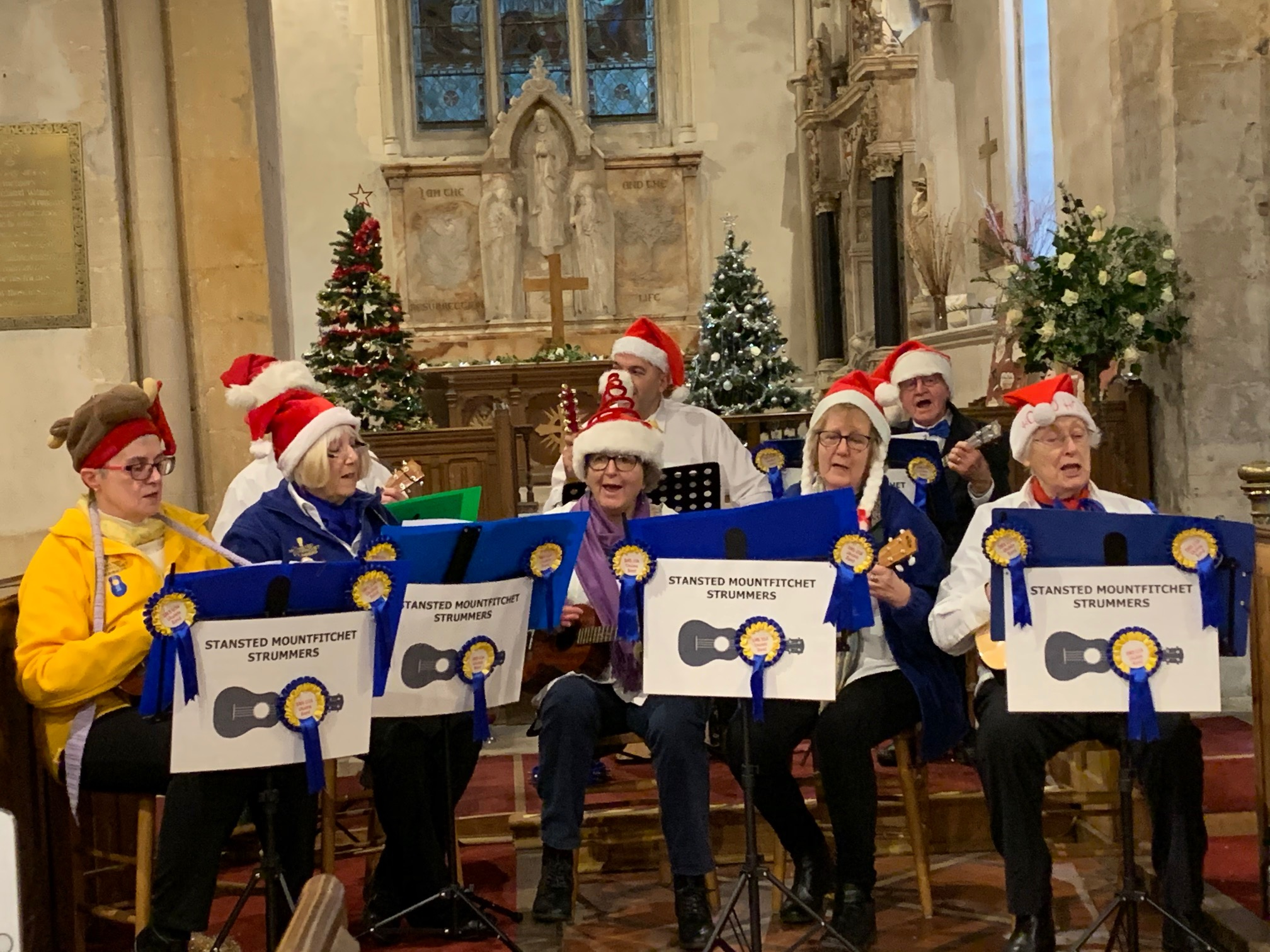 Strummers at St Mary