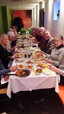 A recent curry night