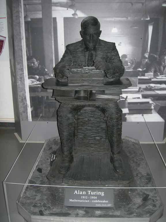 A model of Alan Turing