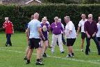 A demonstration of Walking Rugby