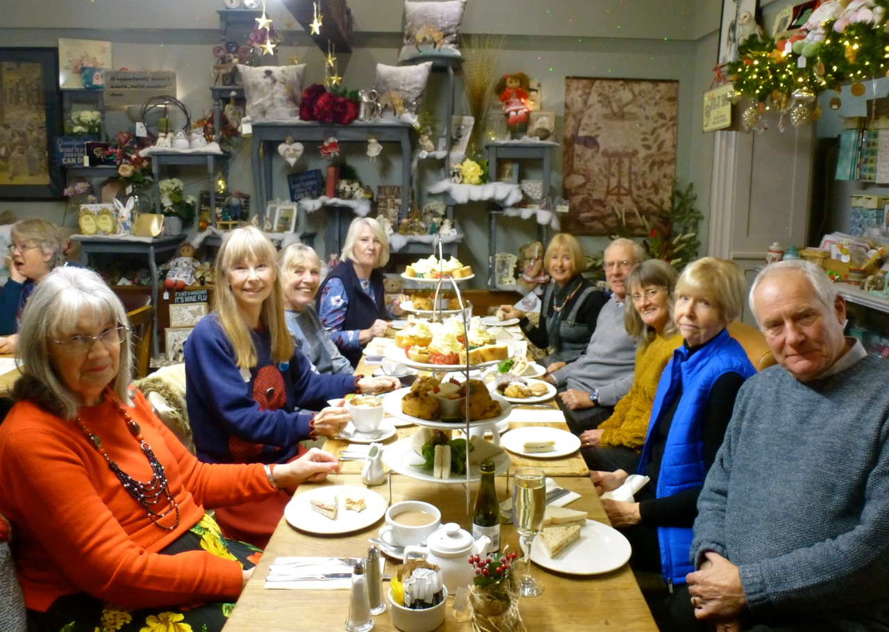 Nostalgia Group Christmas Tea