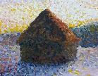 Haystack, Monet style, by Grace