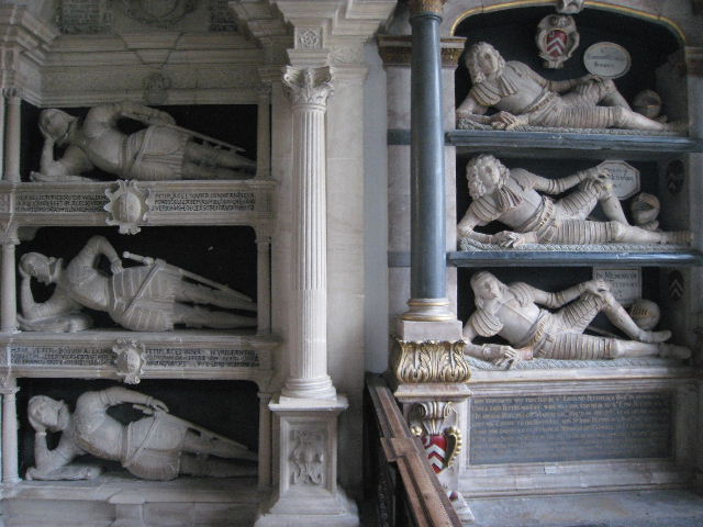 The Fettiplace Tombs, Swinbrook Church