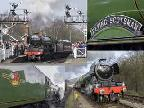 Flying Scotsman Collage