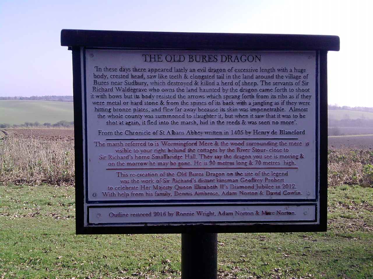 The Old Dragon of Bures