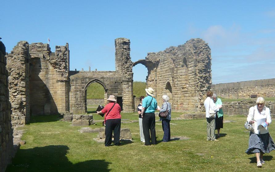 Exploring Tynemouth Priory