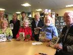 Book Group with the Queen Mary Christmas