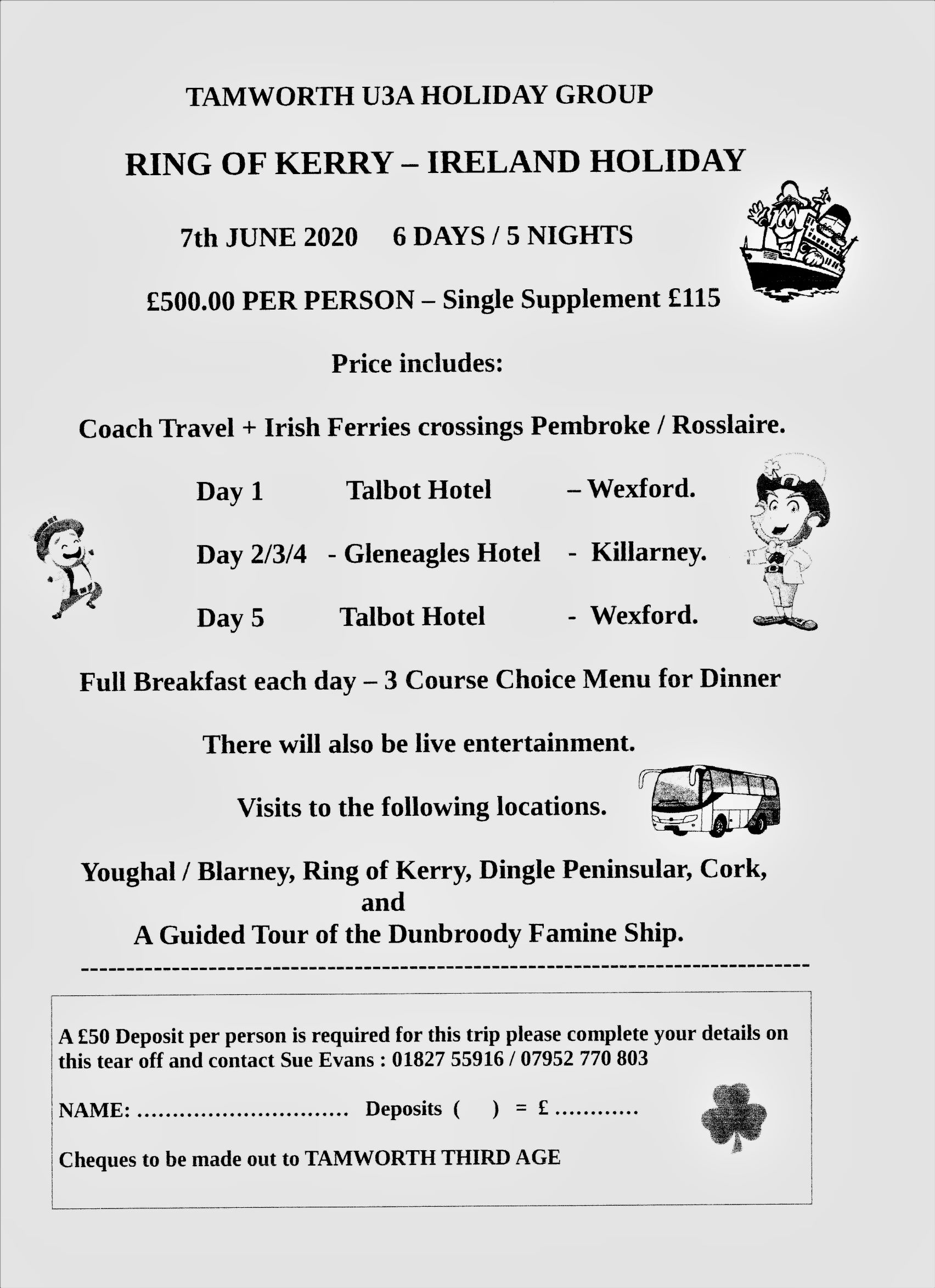 Kerry Holiday Flyer