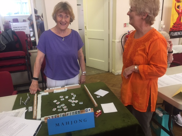 Mahjong at Open Day