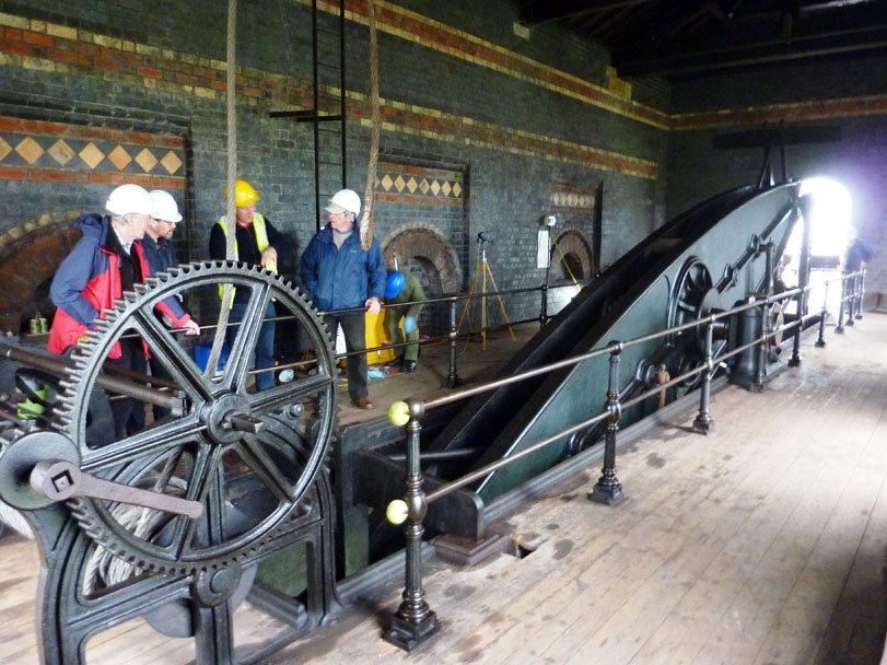 Sandfield Pumping Station,Top Beam