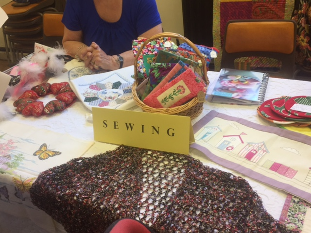 Sewing Group, Items Produced