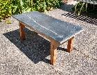 Marble top Patio Table