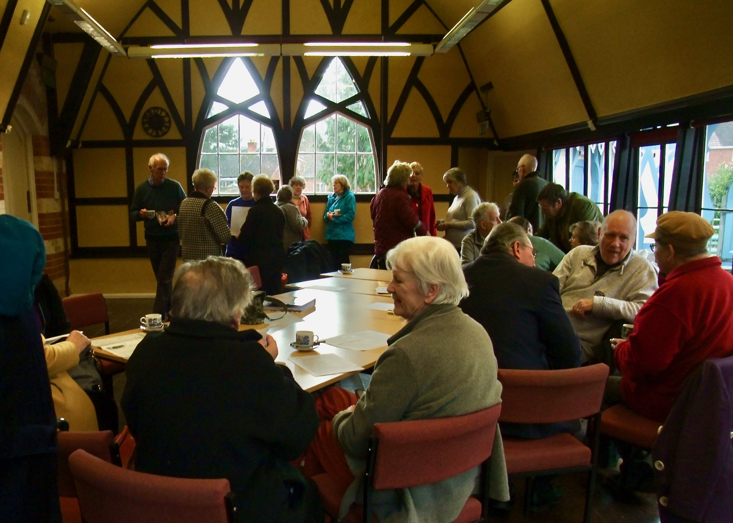 Coffee & Chat in the Pump Rooms