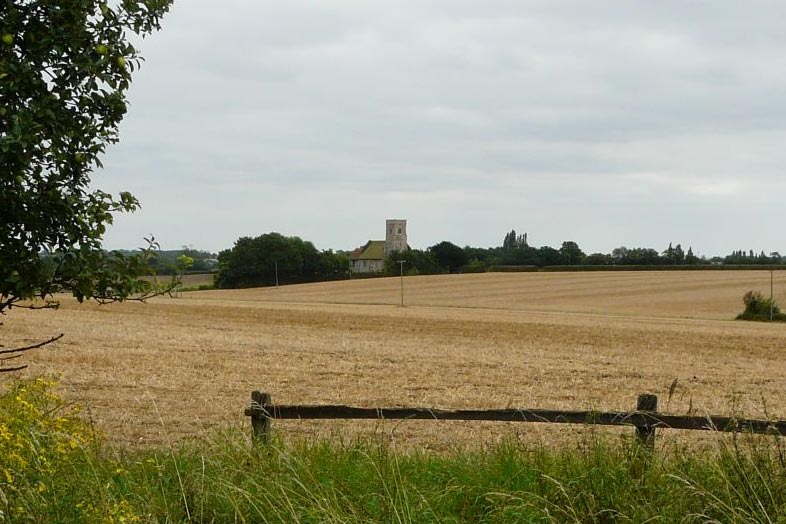 Beauchamp Roding church