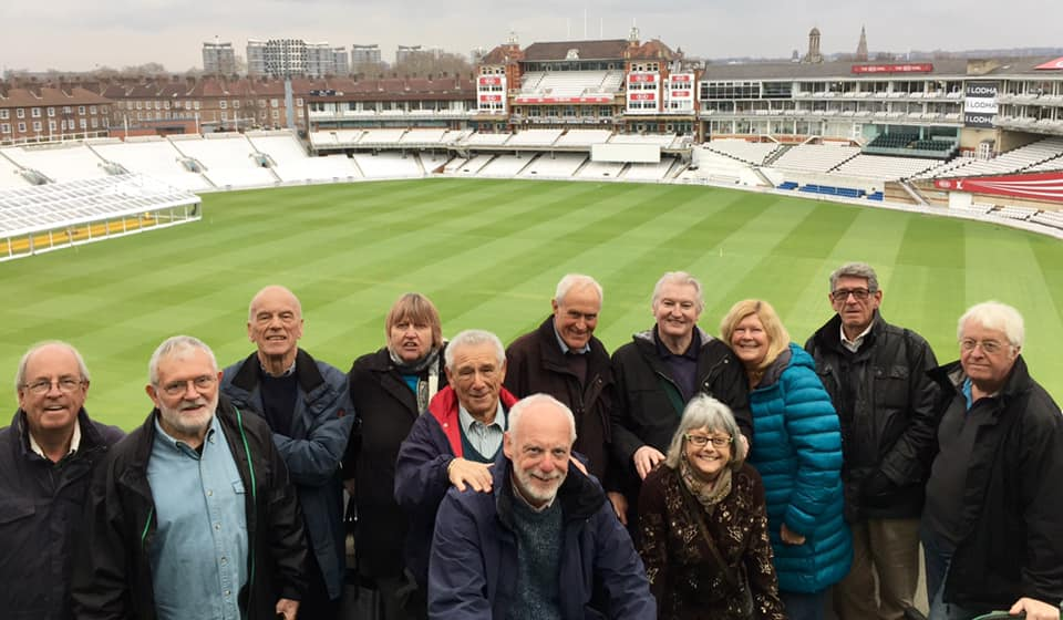 Talksport at The Oval