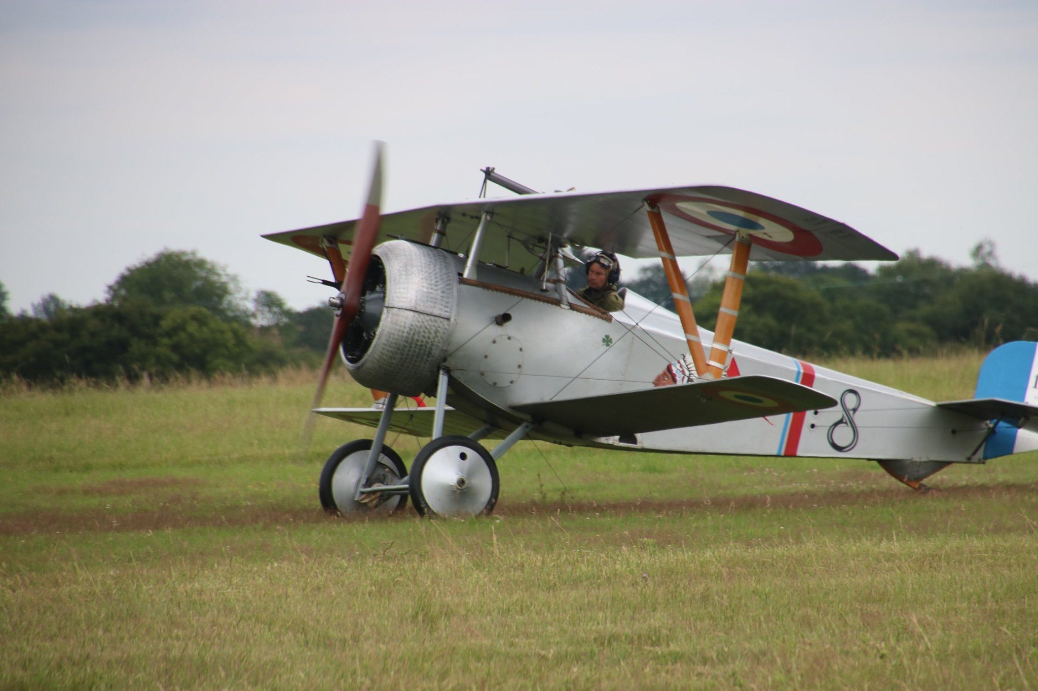 Nieuwport Fighter at Stow Maries