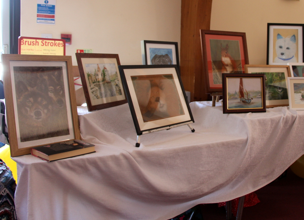 Display at Tenth Birthday meeting