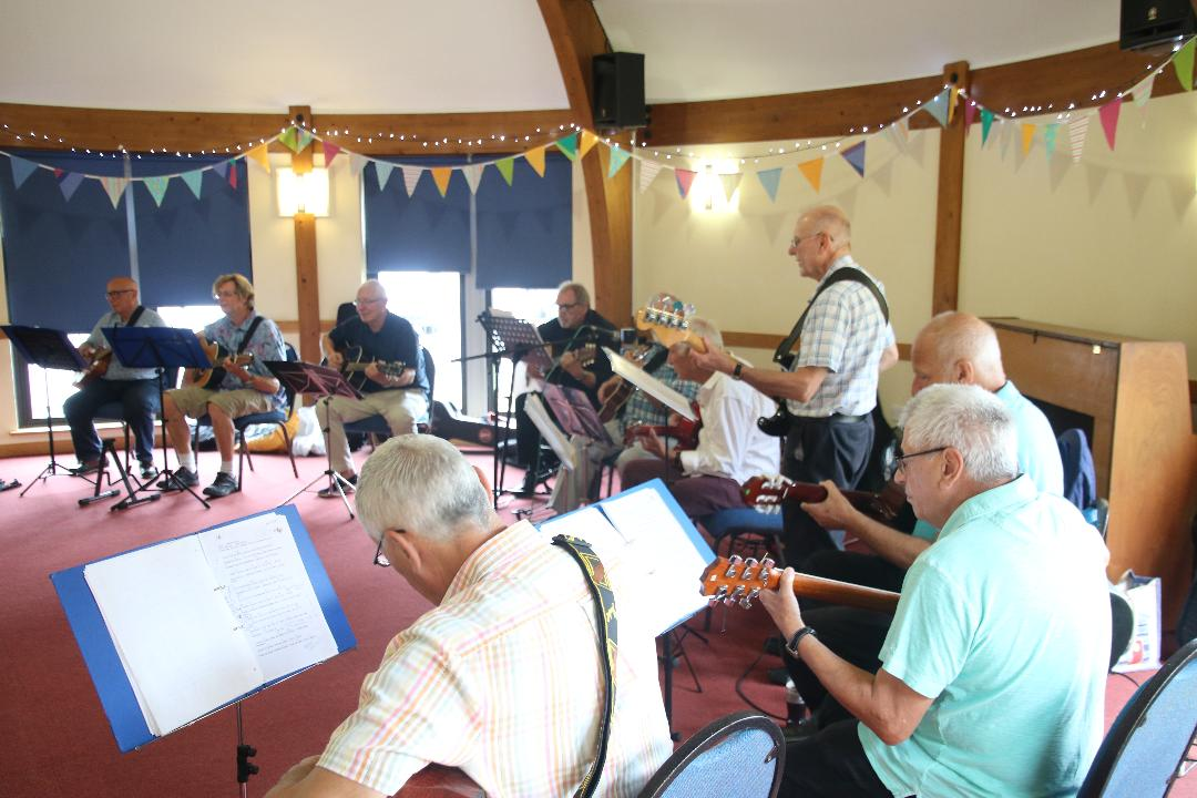 The Guitar Group in Performance