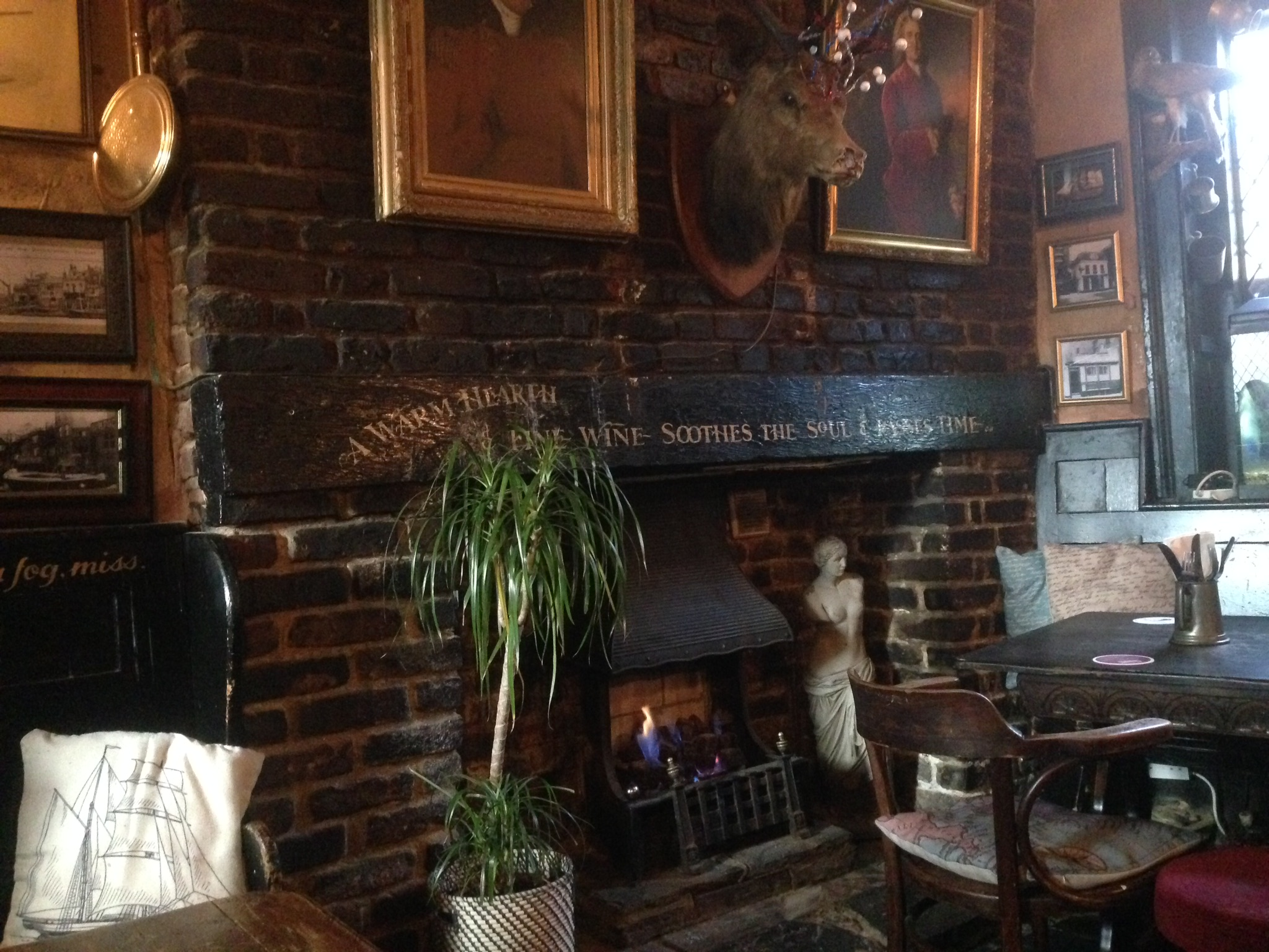 Inside Mayflower pub