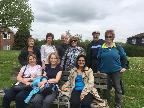 Members on April Boundary Walk