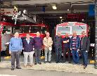 Group at Grays Fire Station