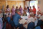 Dancing & Singing at the Afternoon tea