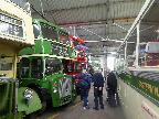 Group in Canvey Transport Museum