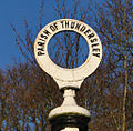 Old Thundersley Parish sign