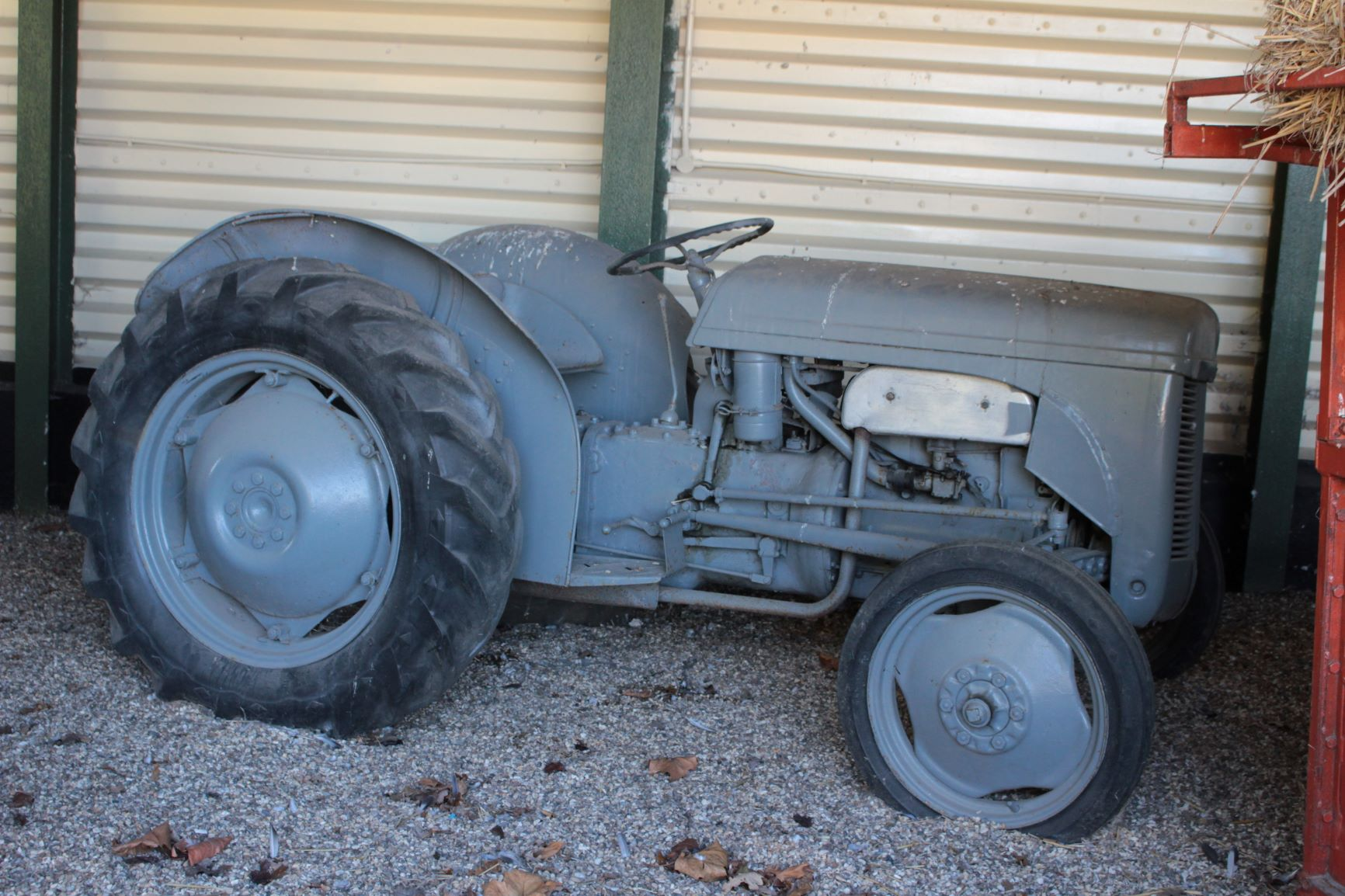 Old Grey Tractor at Wilkins