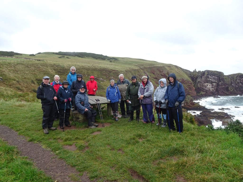 The group at St Abbs