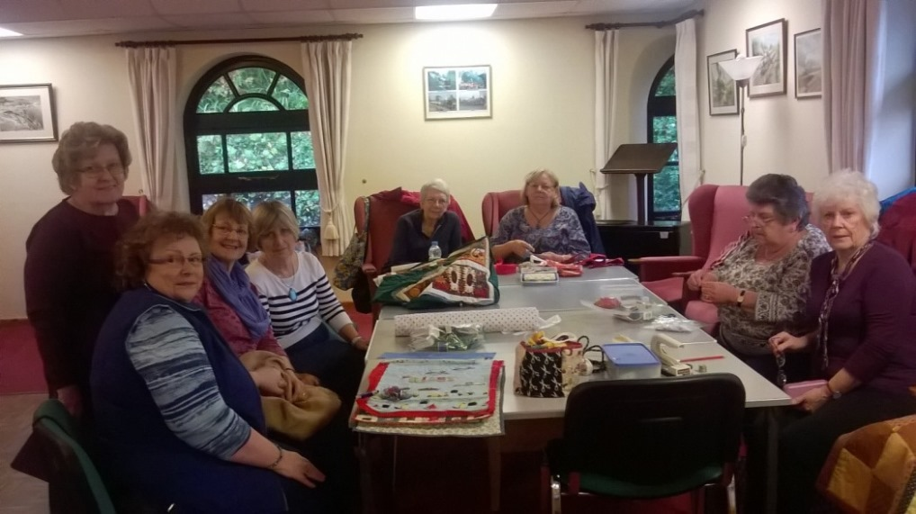 Ladies of the patchwork group