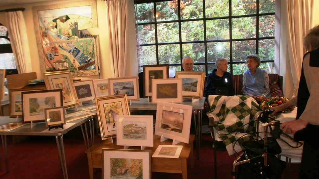 Paintings on display at open day