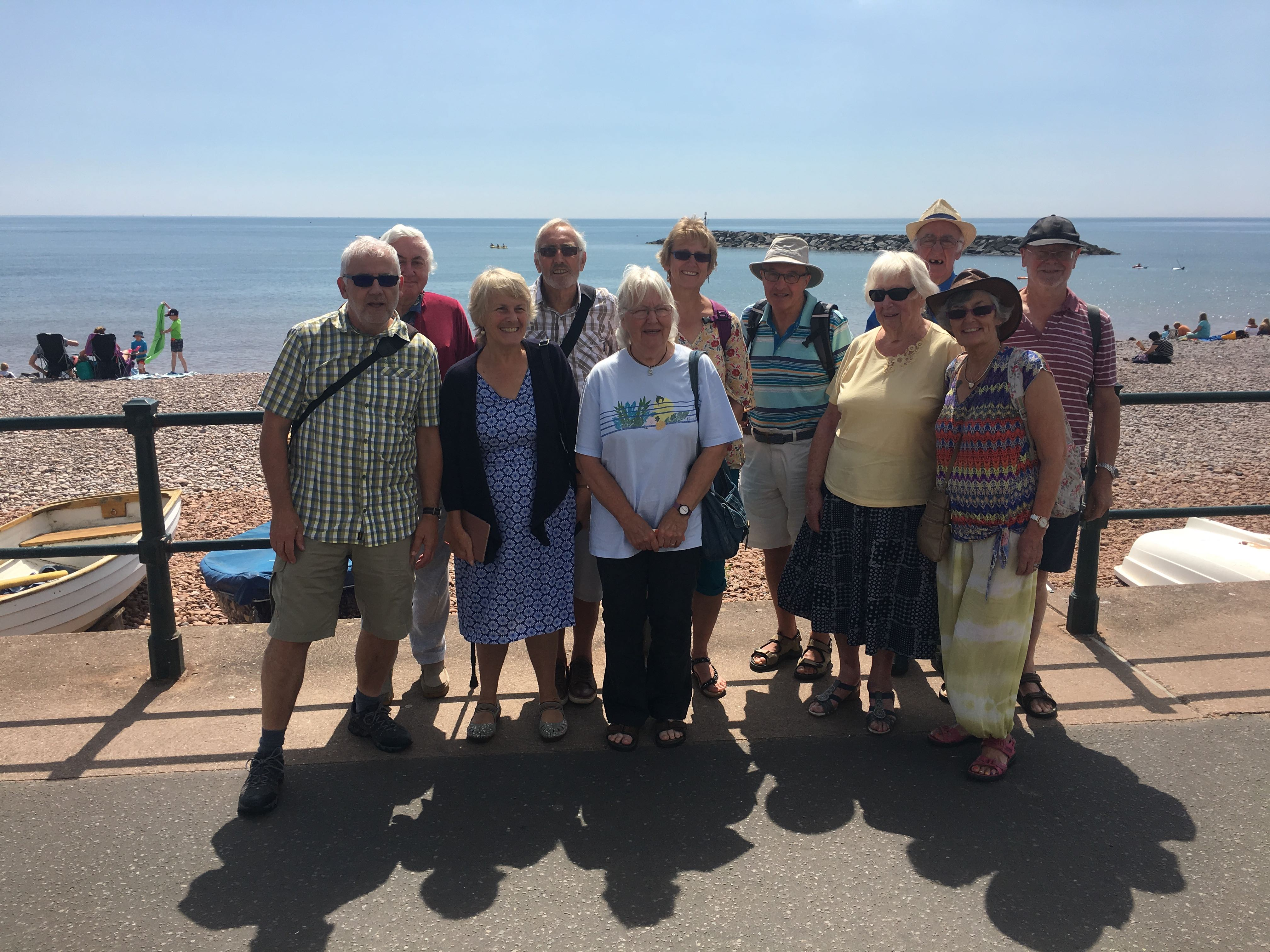 Summer visit to Sidmouth
