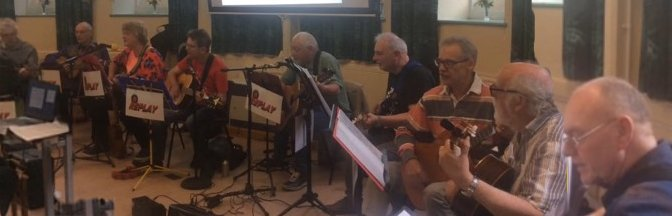 The Guitar Group Playing for Oxton U3A