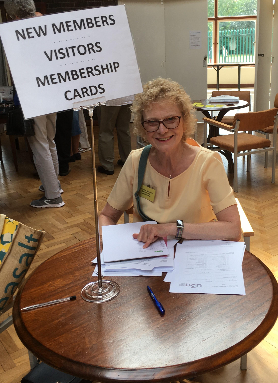 Christine Adamson Membership Admin