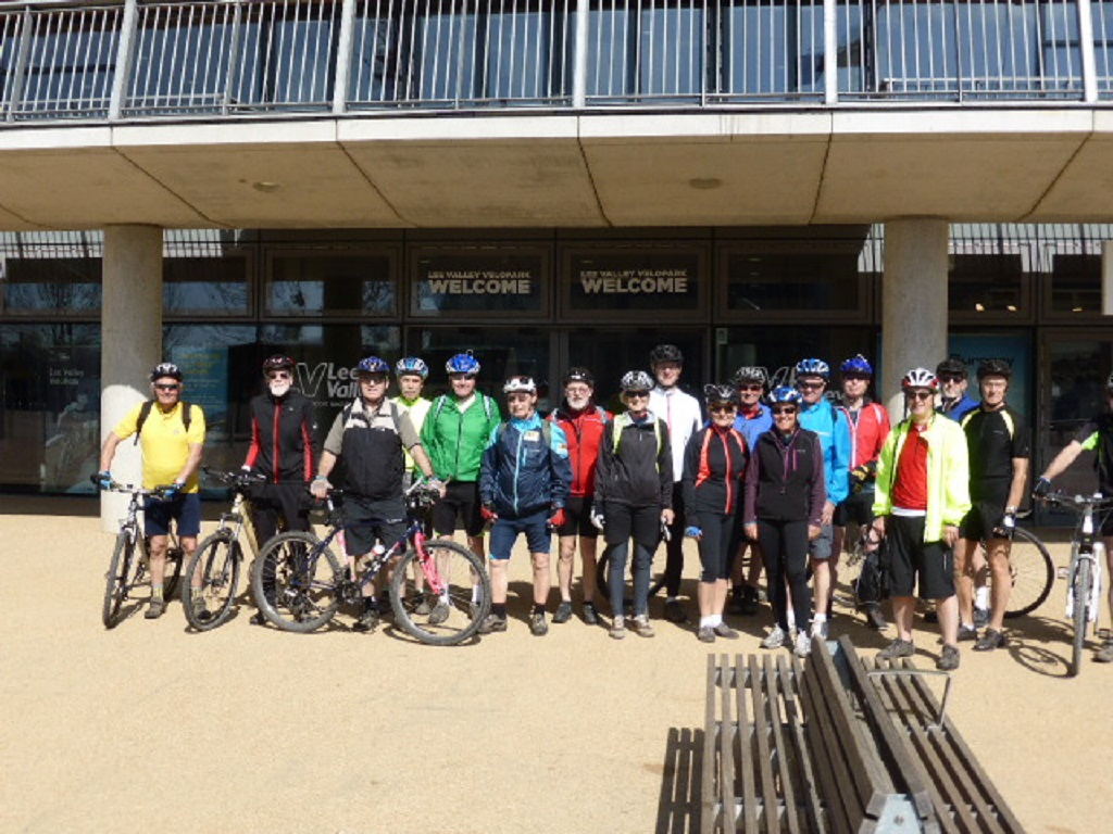 Cycling Group at Olympic Park