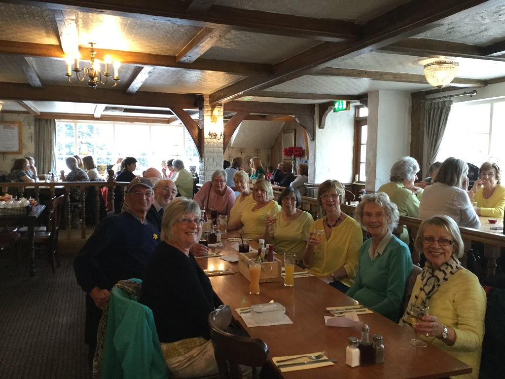 Line Dancing meal out at The Plough