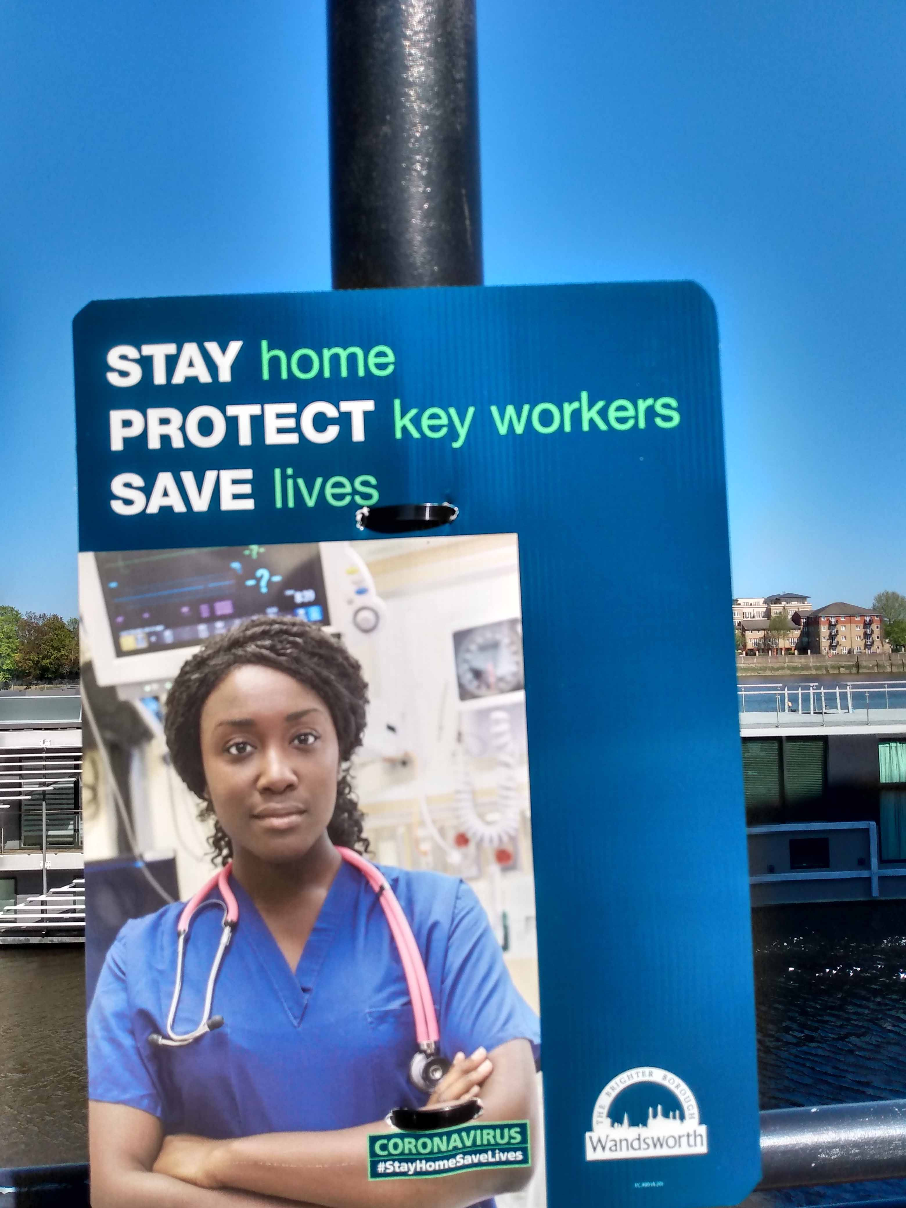 Stay home stay safe - support the NHS