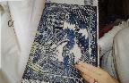 Beautiful willow pattern tapestry