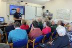 Talk by volunteer lifeboat man Martin