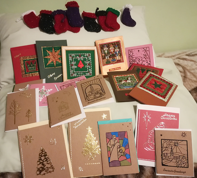 Cards - mini stockings