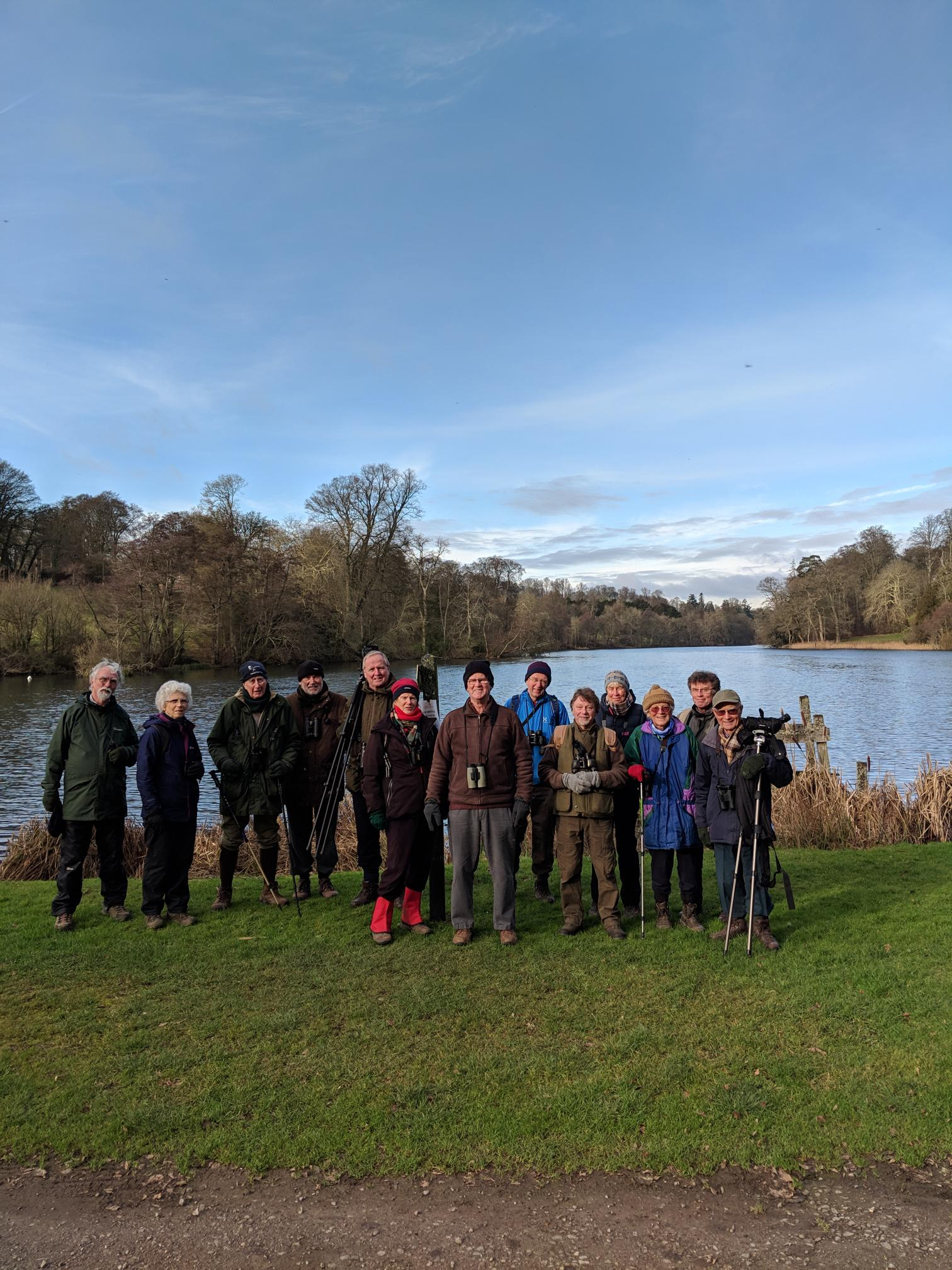 The Bird Group at Fonthill Lake