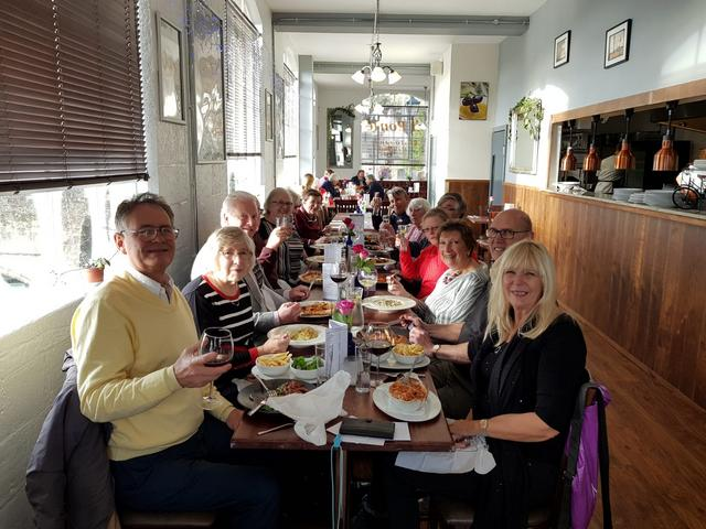 Christmas Lunch in the Italian