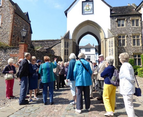 Touring Norwich