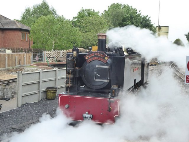 Steam on the Bure Valley Railway Norfolk