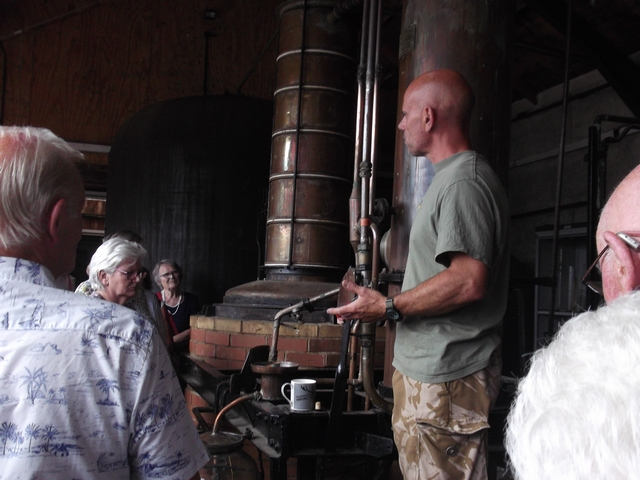 WAGs visit to the Still